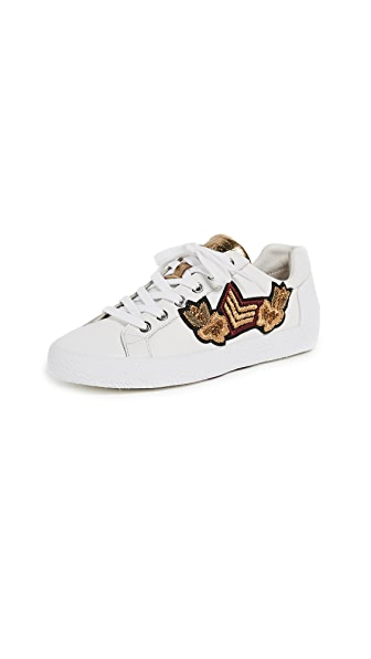 Ash Nak Arms Sneakers In White