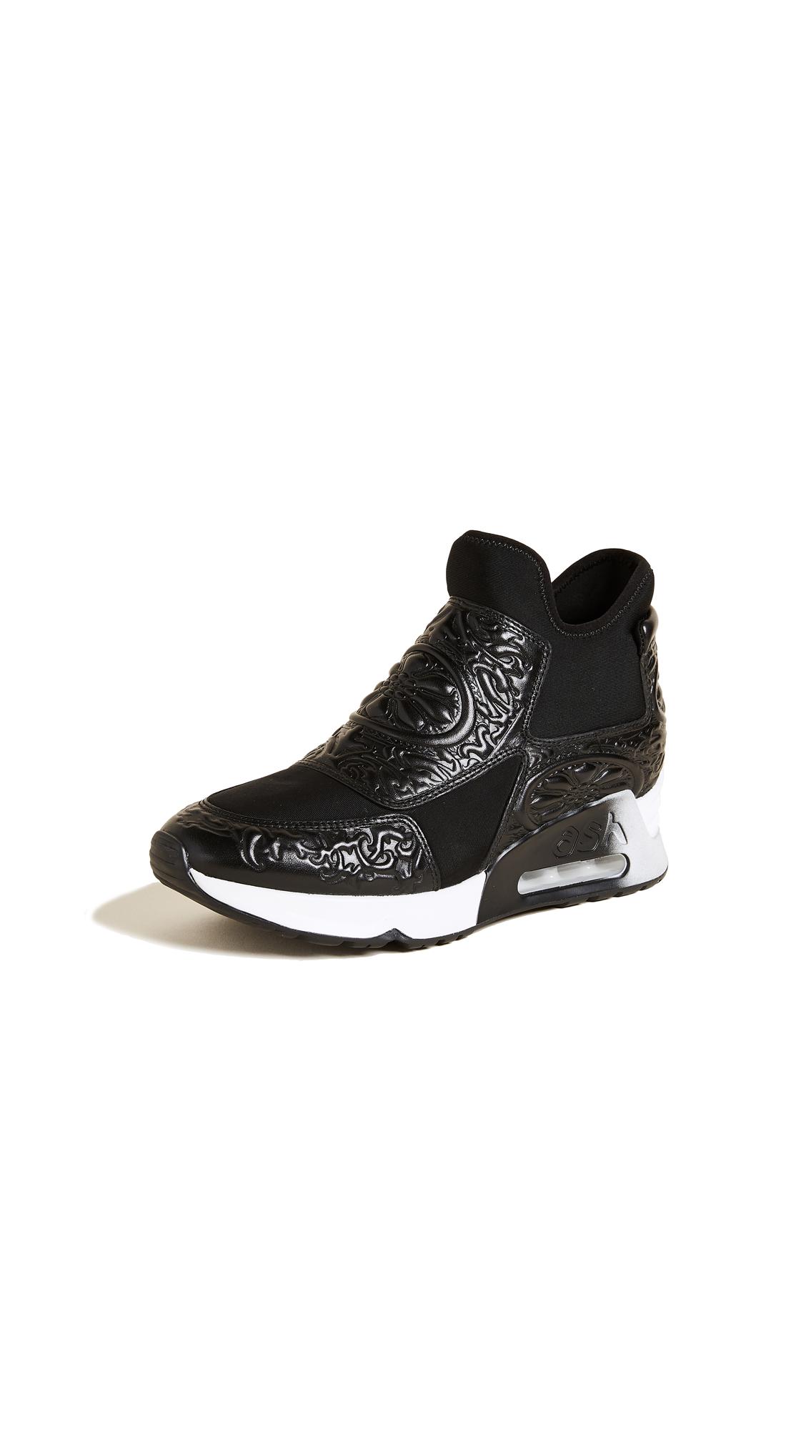 Ash Lexi Sneakers - Black/Black