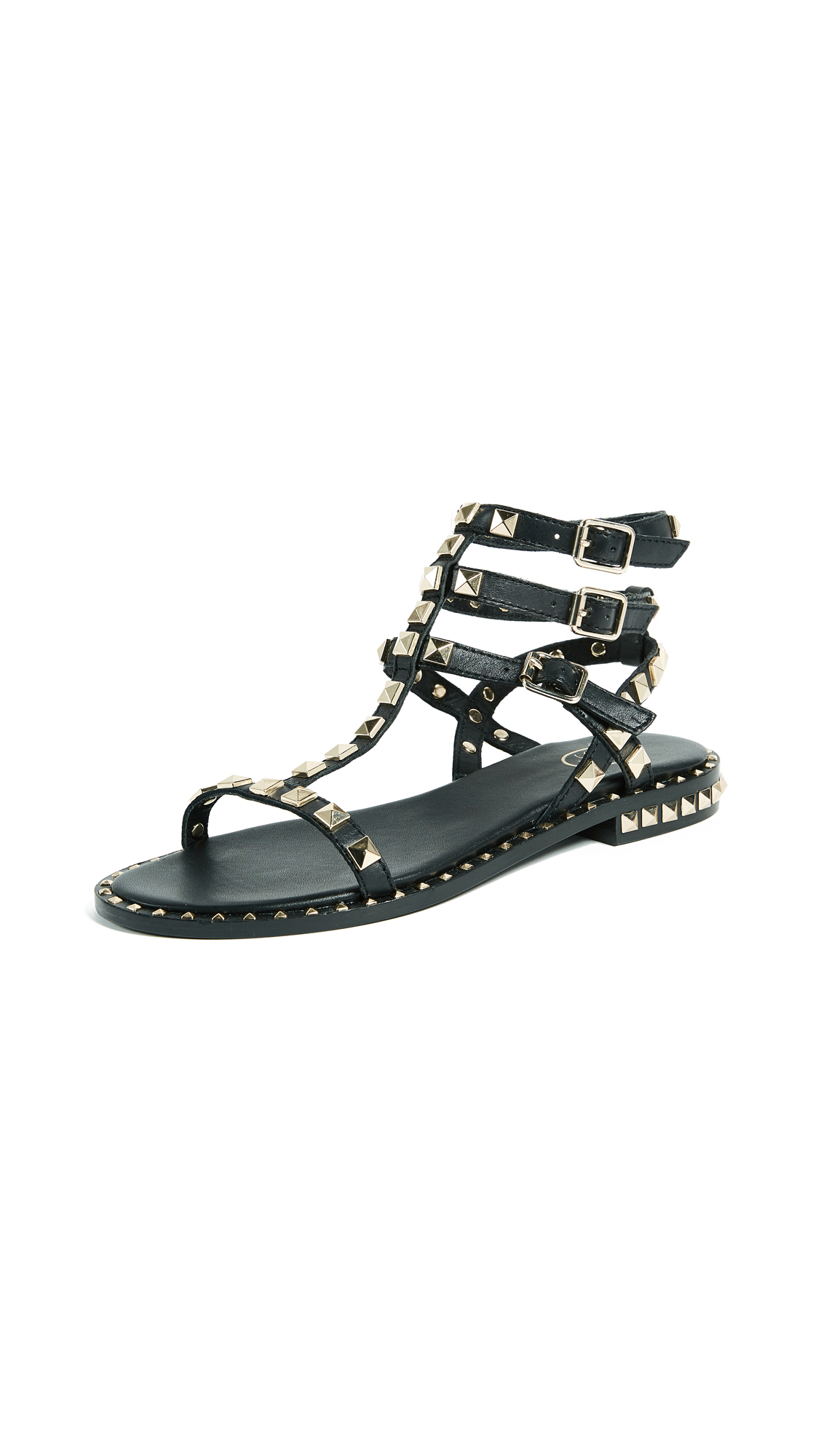Ash Poison Sandals - Black
