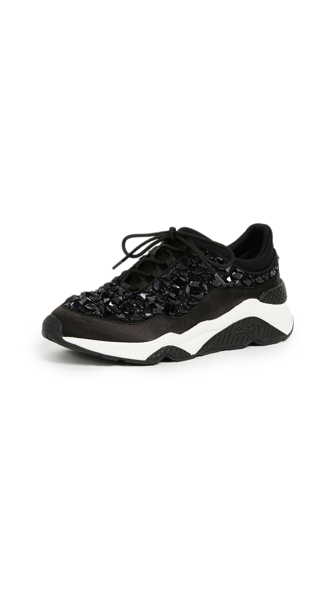 Ash Muse Stone Sneakers - Black