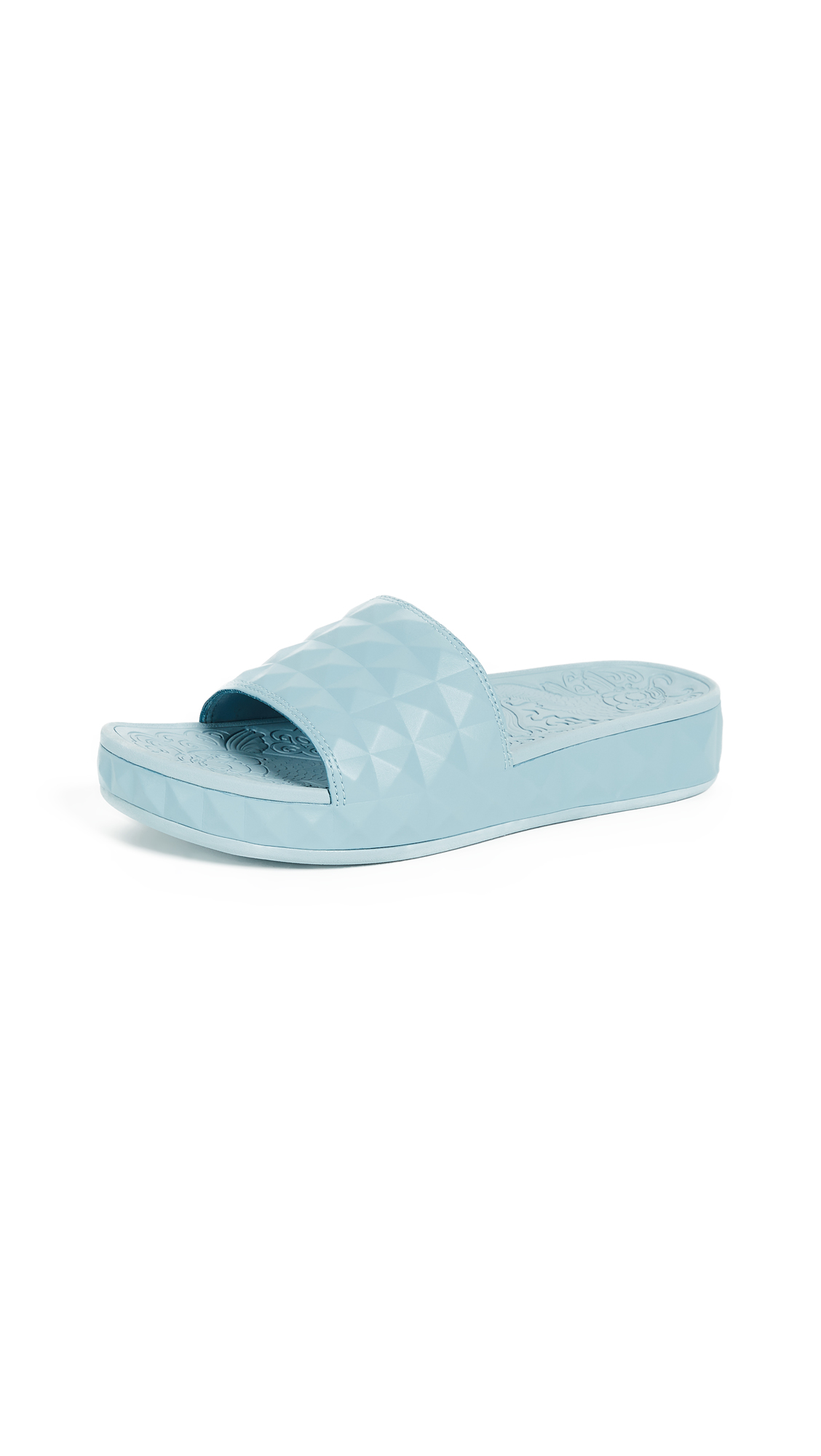 Ash Splash Slides - Ice Blue