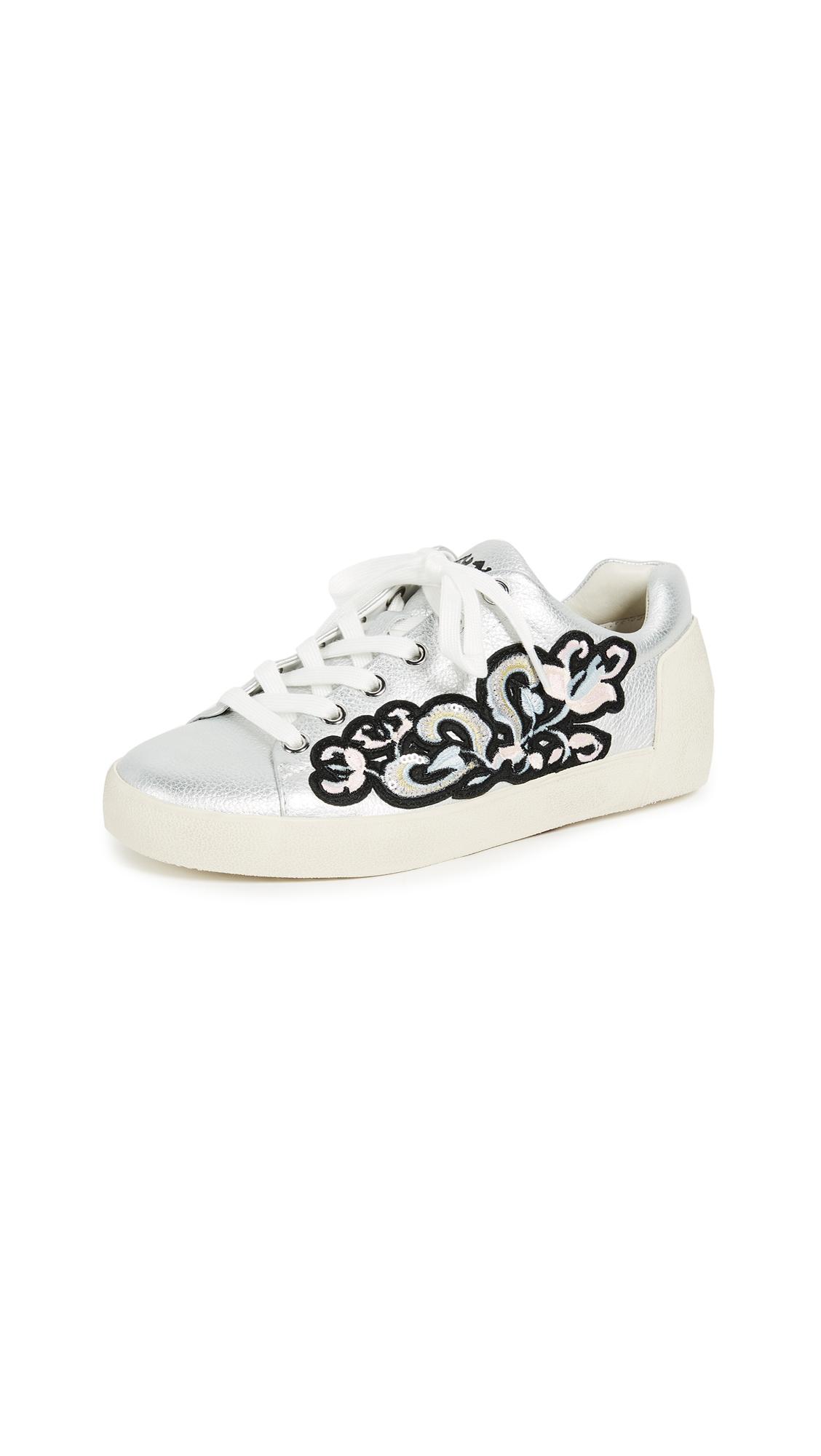 Ash Nak Bis Sneakers - Silver/Black