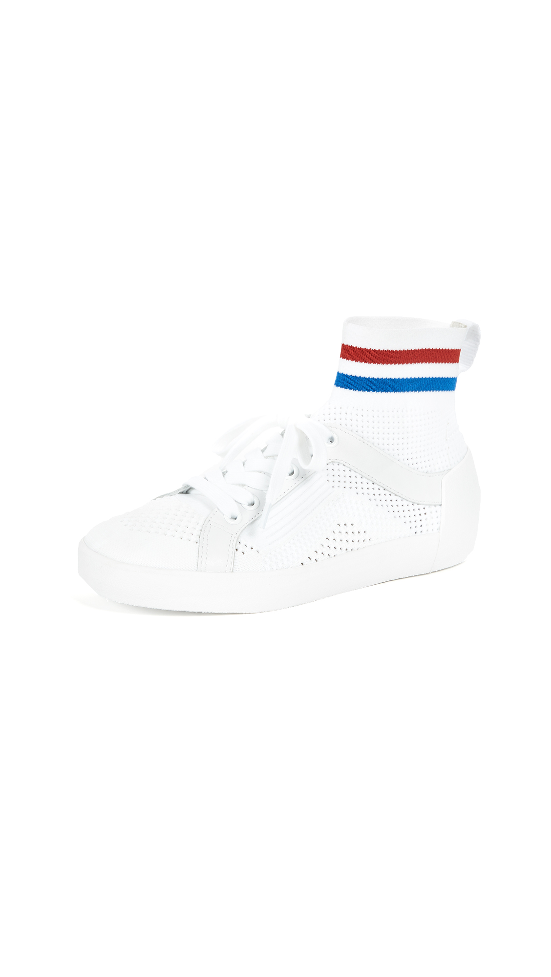 Ash Ninja Sneakers - White/Red/Blue