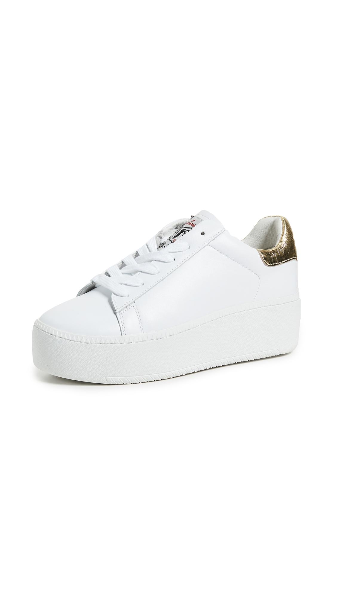 Ash Cult Platform Sneakers - White/Ariel