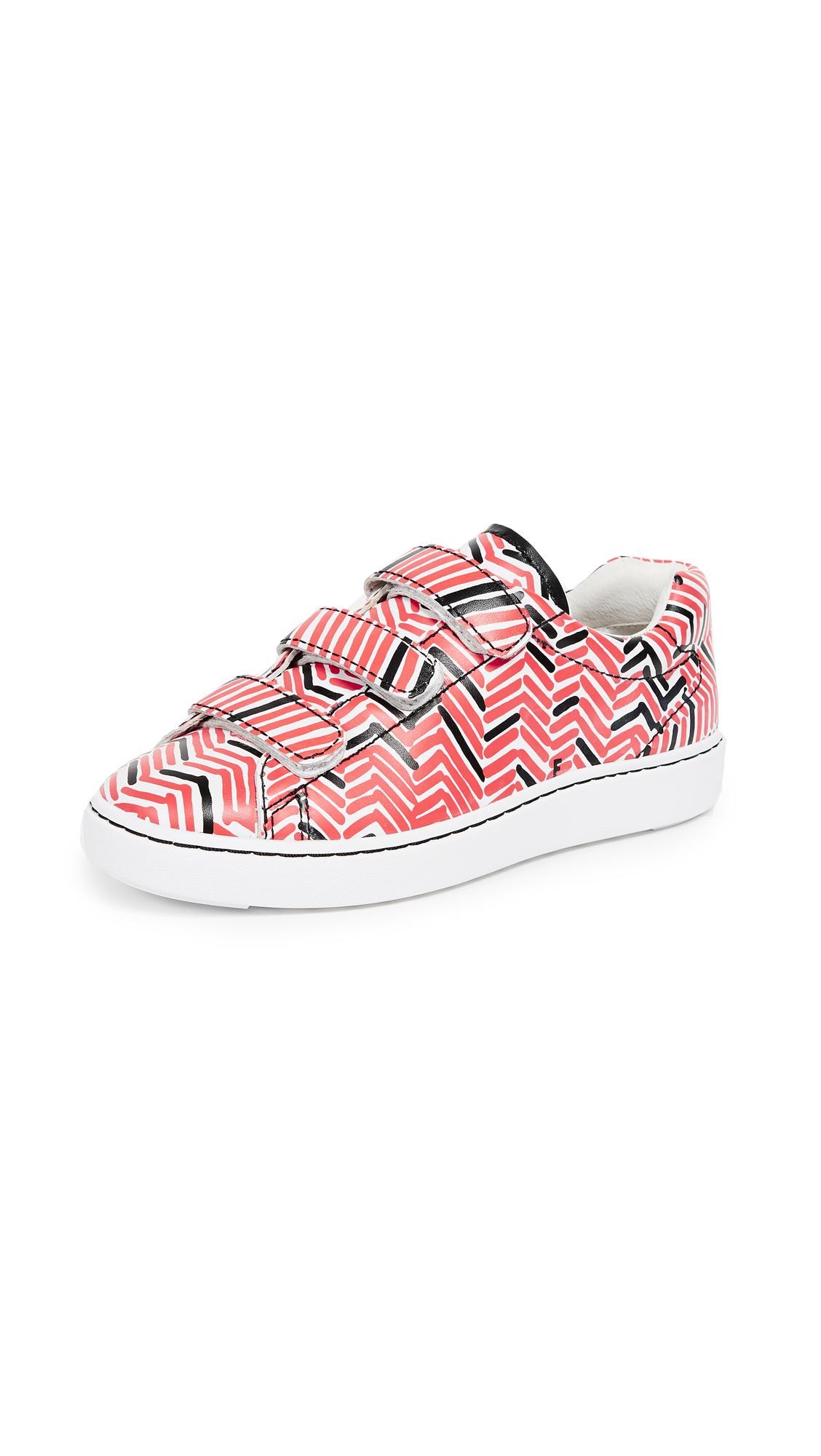 Ash x Filip Pagowski Pharrel Tweed Sneakers - White