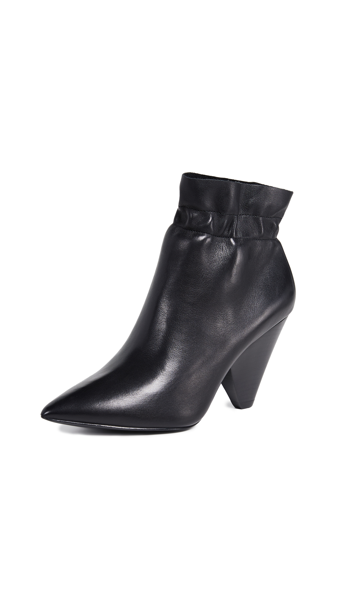 Ash Dafne Booties - Black