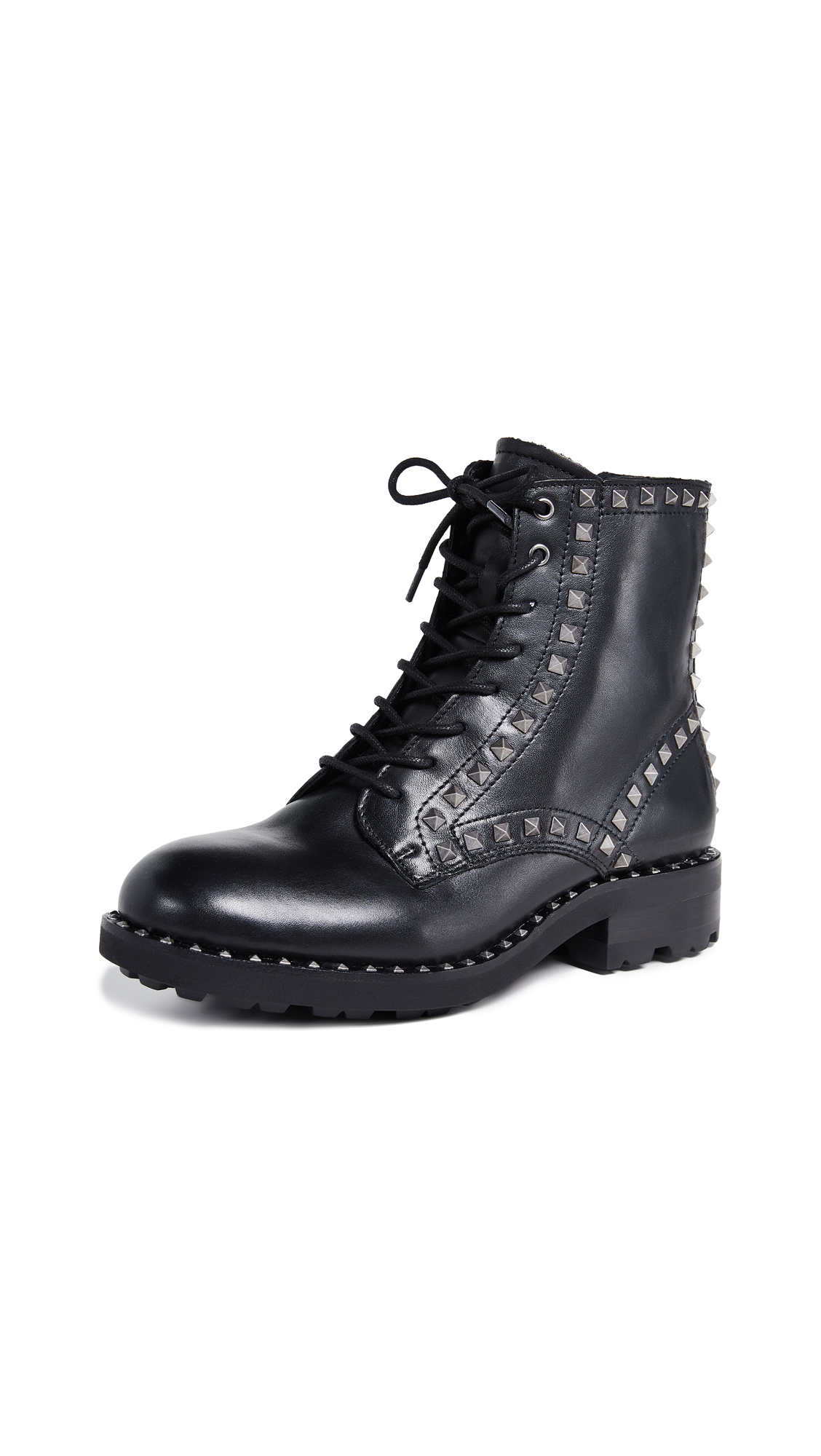 Ash Wolf Boots - Black/Silver