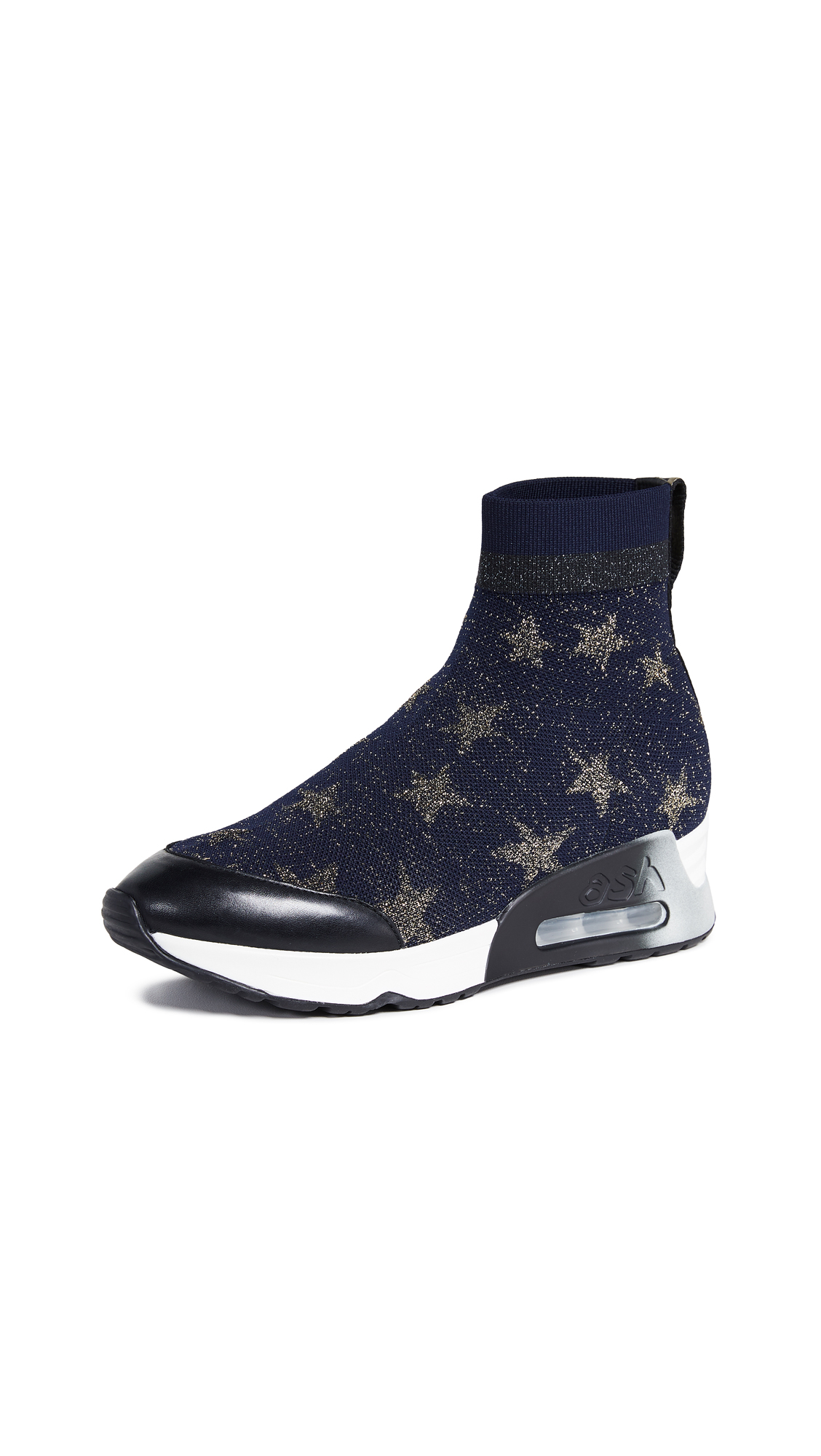 Ash Lulla Star Sneakers - Midnight/Gold/Black
