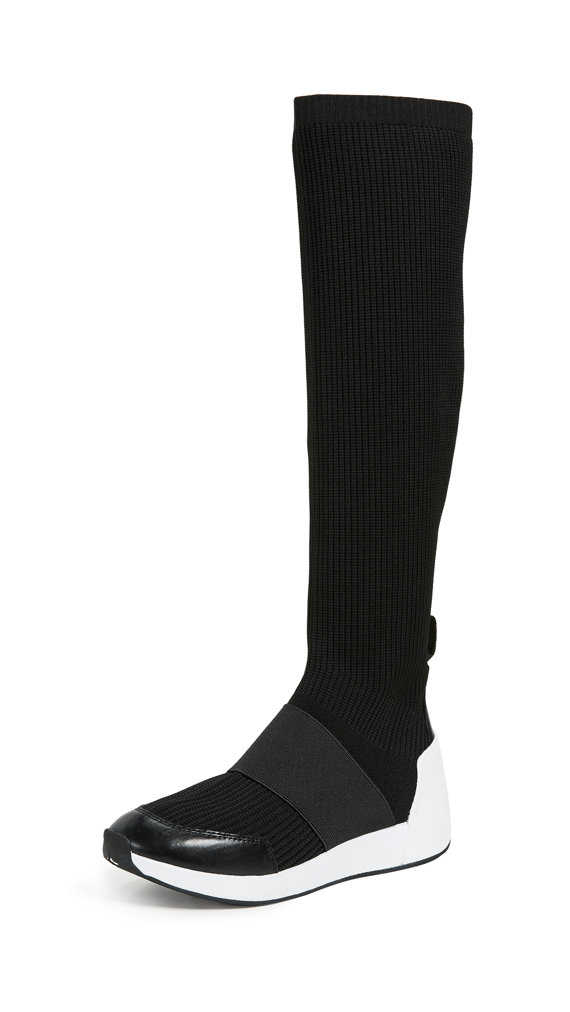 Ash Jezebel Hi Sneakers - Black/Black