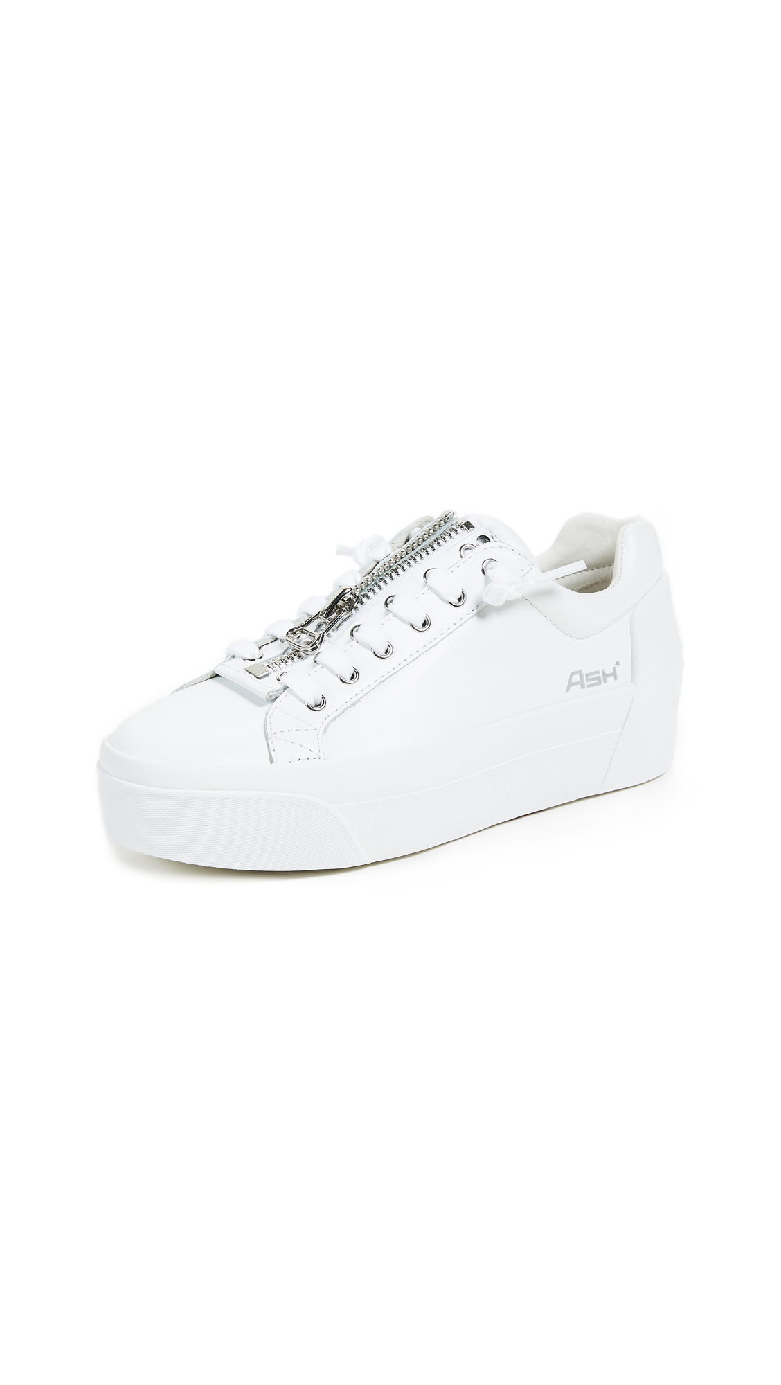 Ash Buzz Platform Sneakers - White