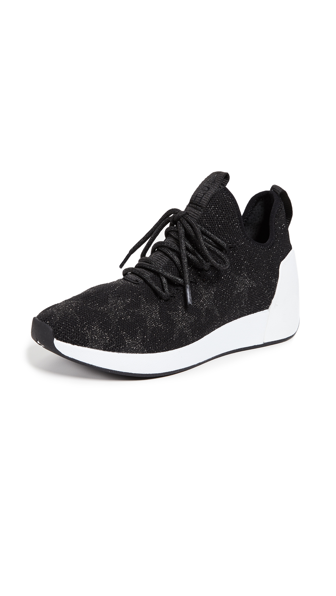 Ash Jaguar Sneakers - Black/Silver