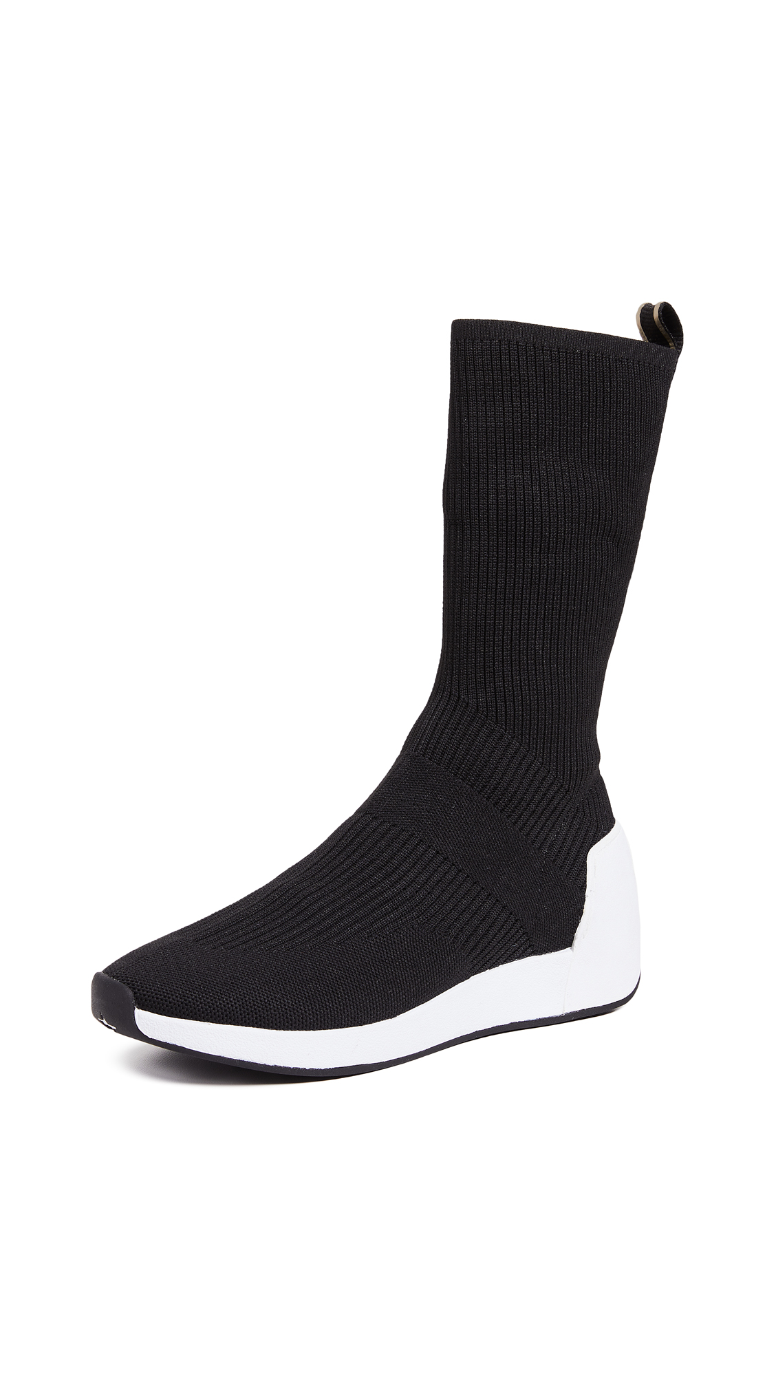Ash Jay Tall Knit Runners - Black