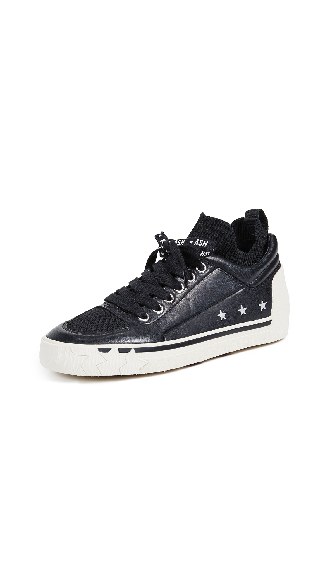 Ash Nippy Sneakers - Black/Black