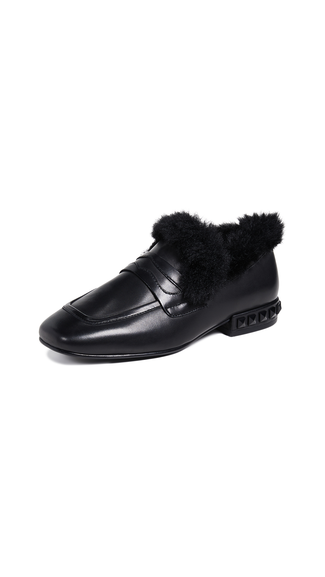 Ash Ever Loafers - Black/Black