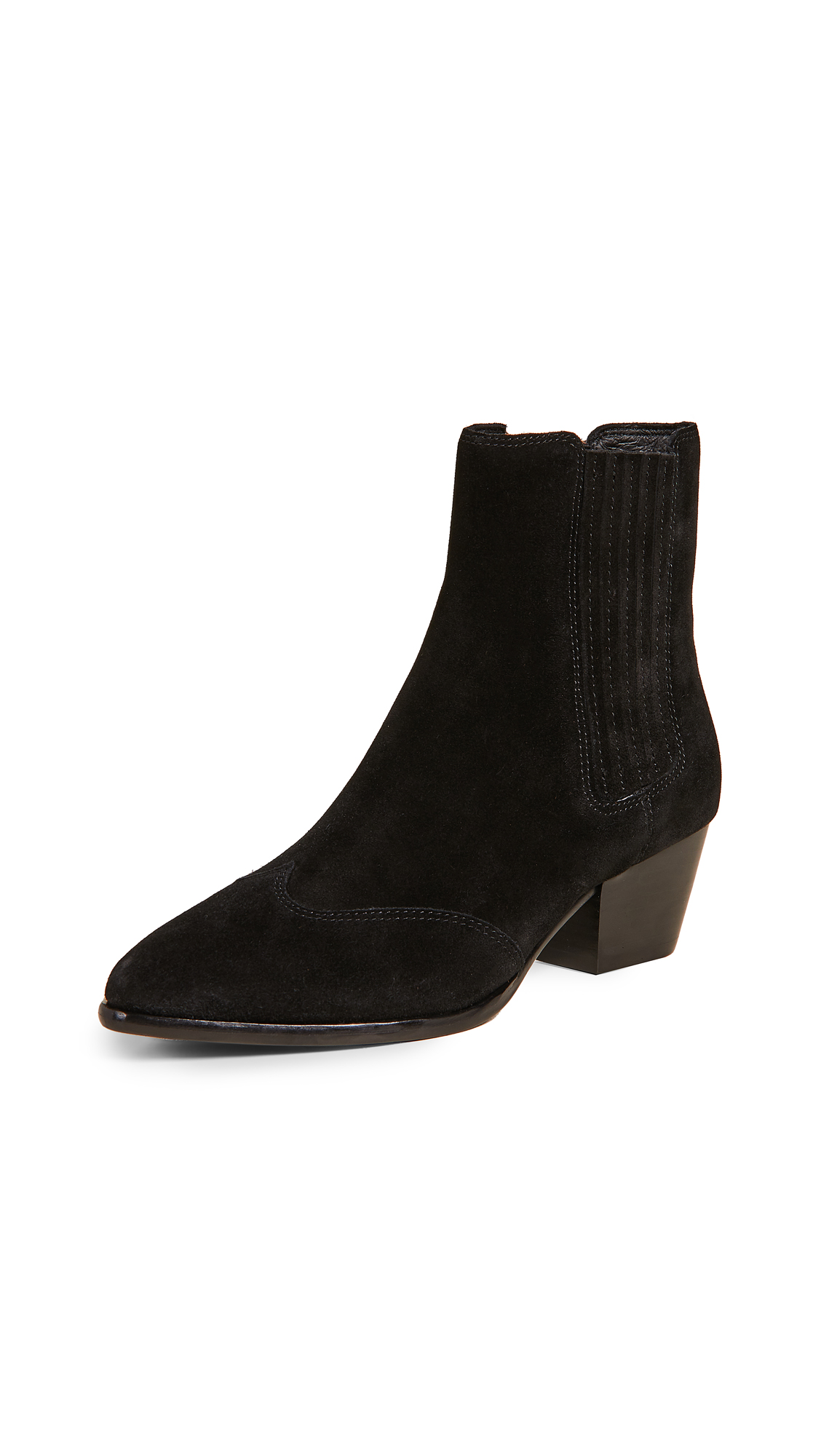 Ash Hook Bis Booties - Black