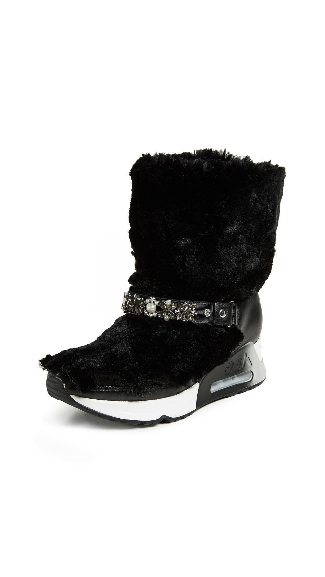 Ash Livya Boots - Black