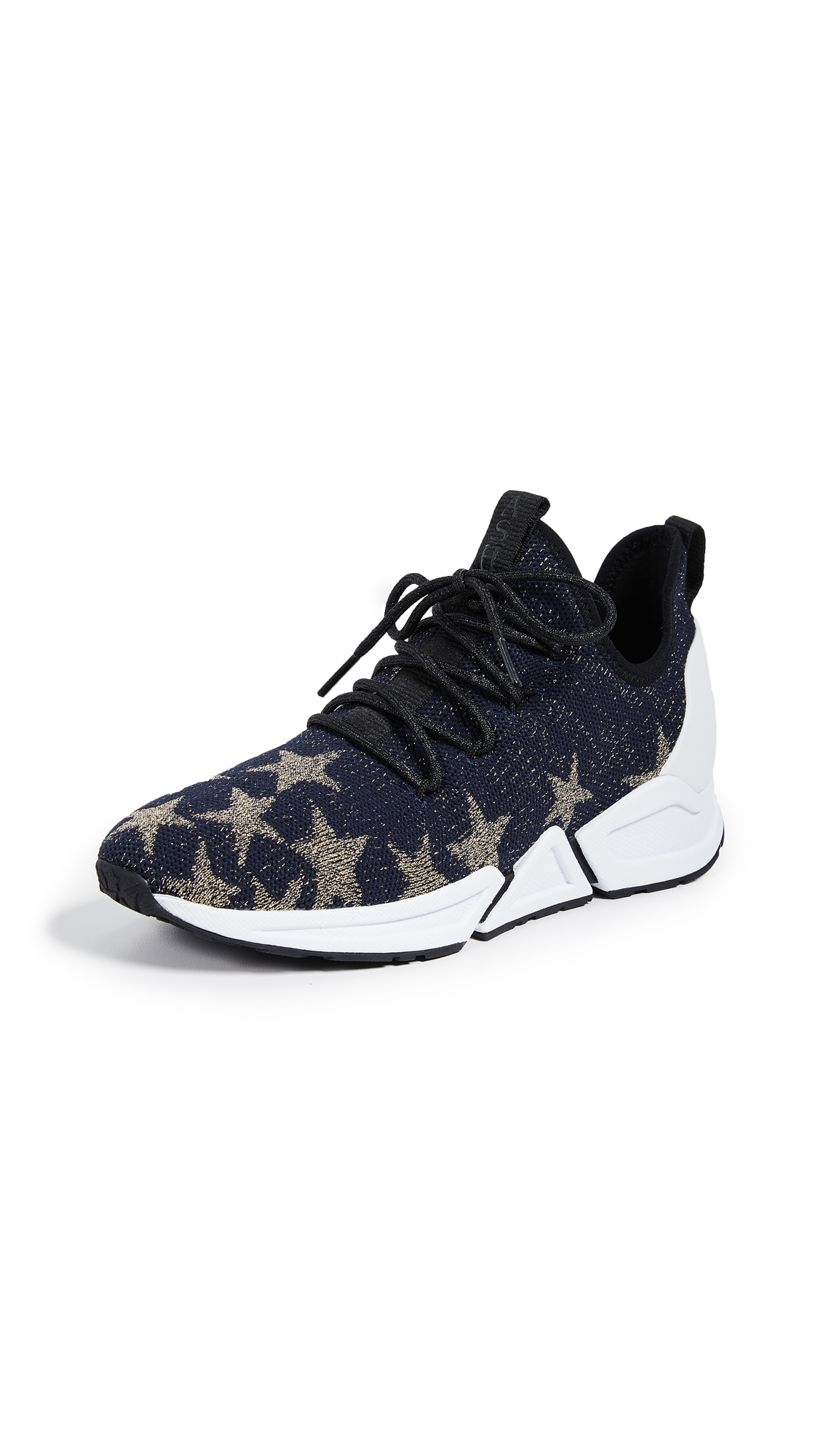 Ash Thyra Sneakers - Midnight/Gold/Black