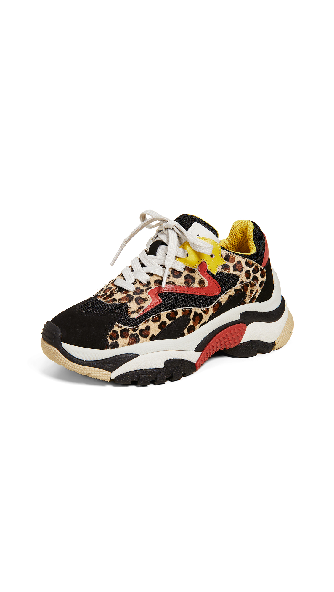 Ash Addict Trainers - Cheetah/Black