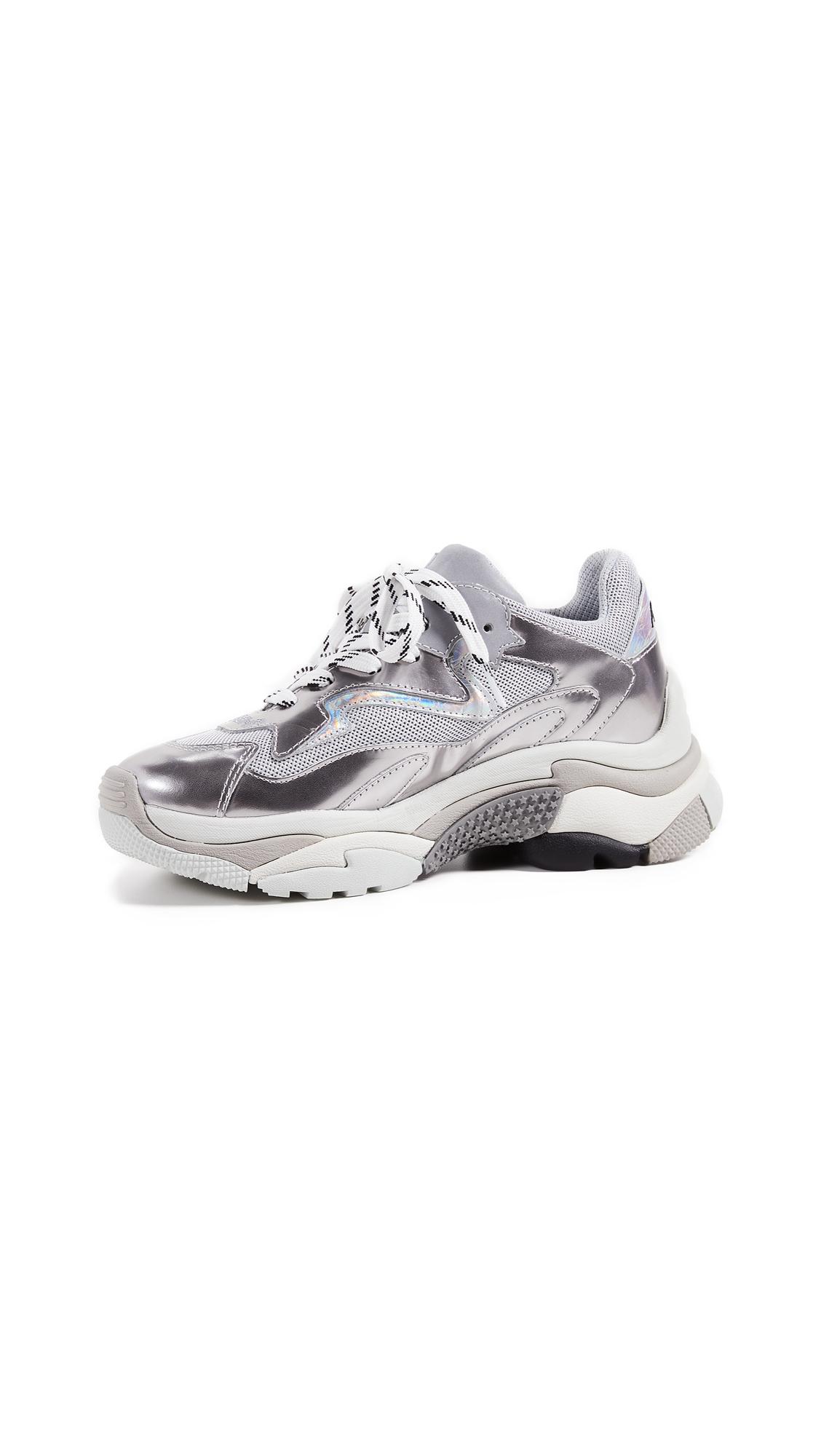 Ash Addict Trainers - Silver/Grigio/Silver/White