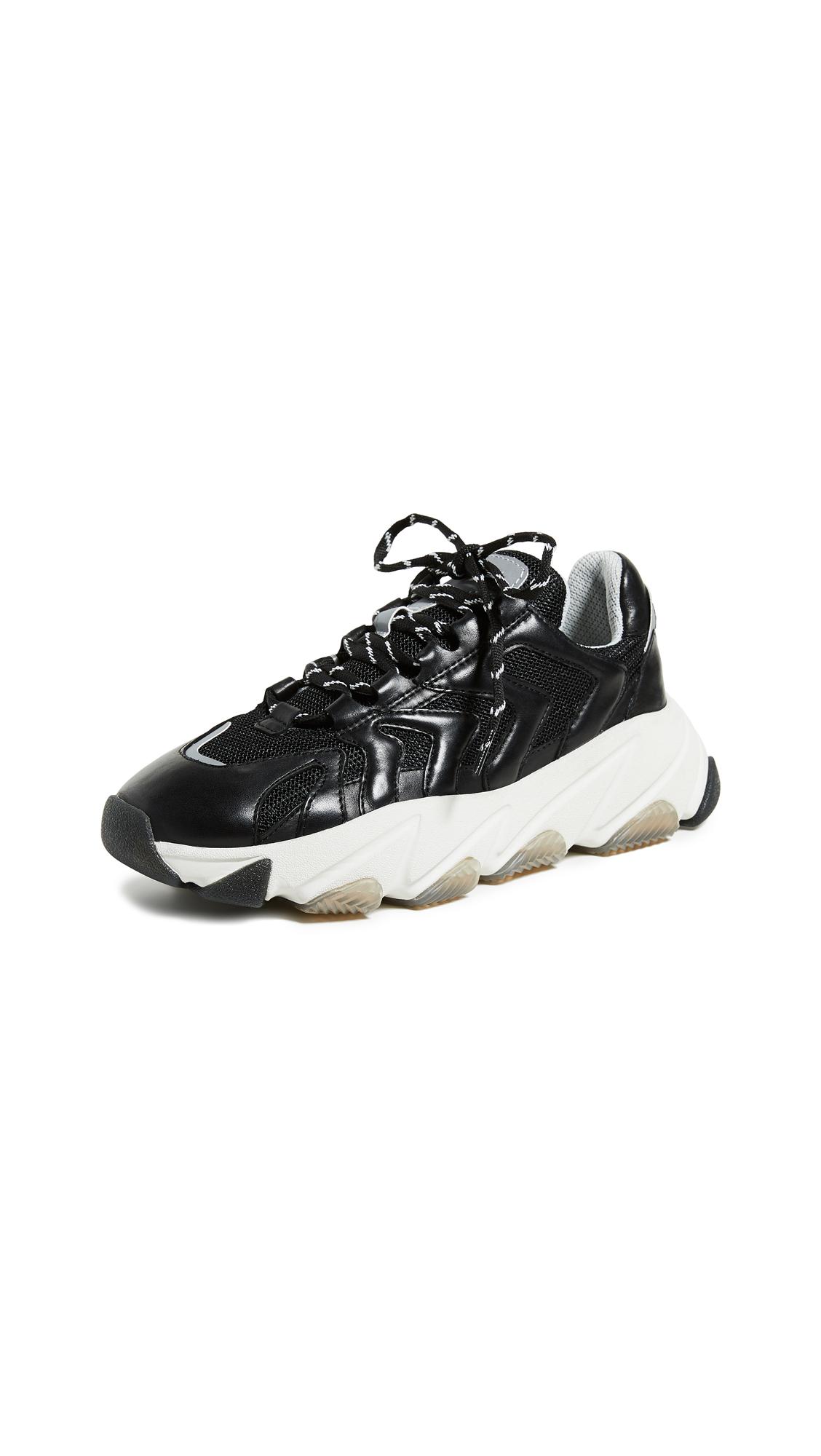 Ash Extreme Sneakers - Black/Reflex Silver/Black