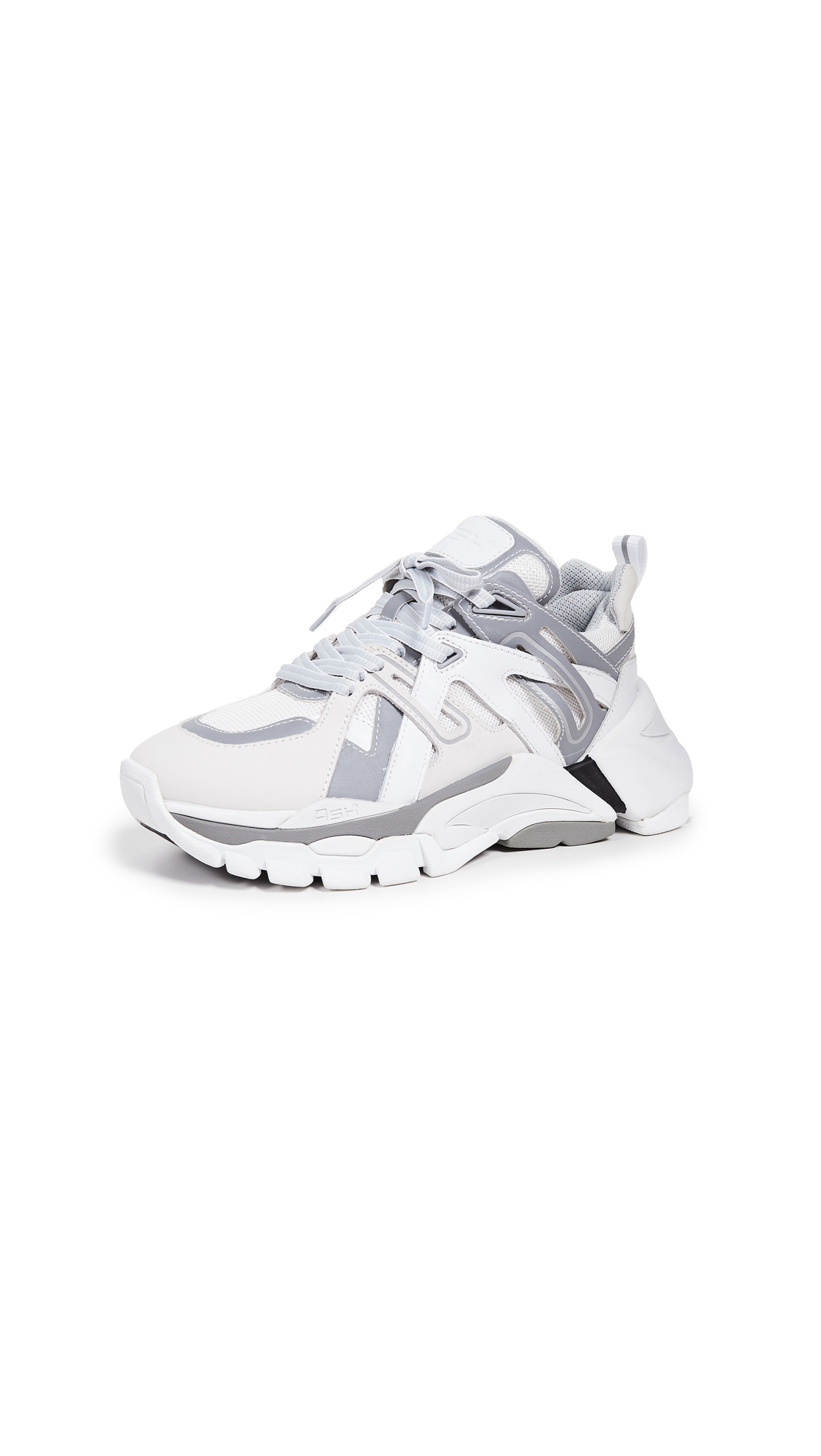 Ash Flash Sneakers - White/Reflex Silver/Off White