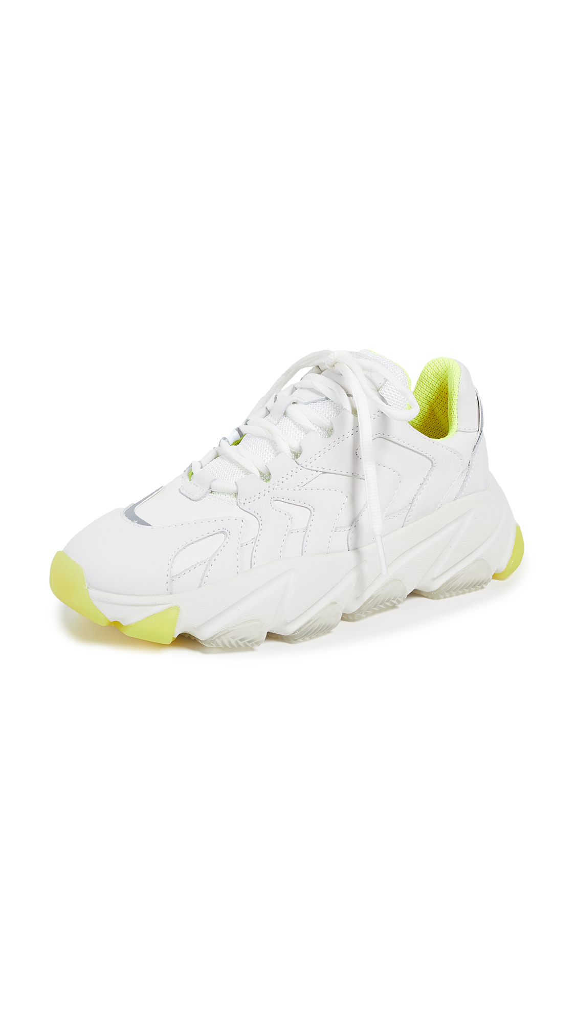 Ash Extreme Trainers - White/Silver