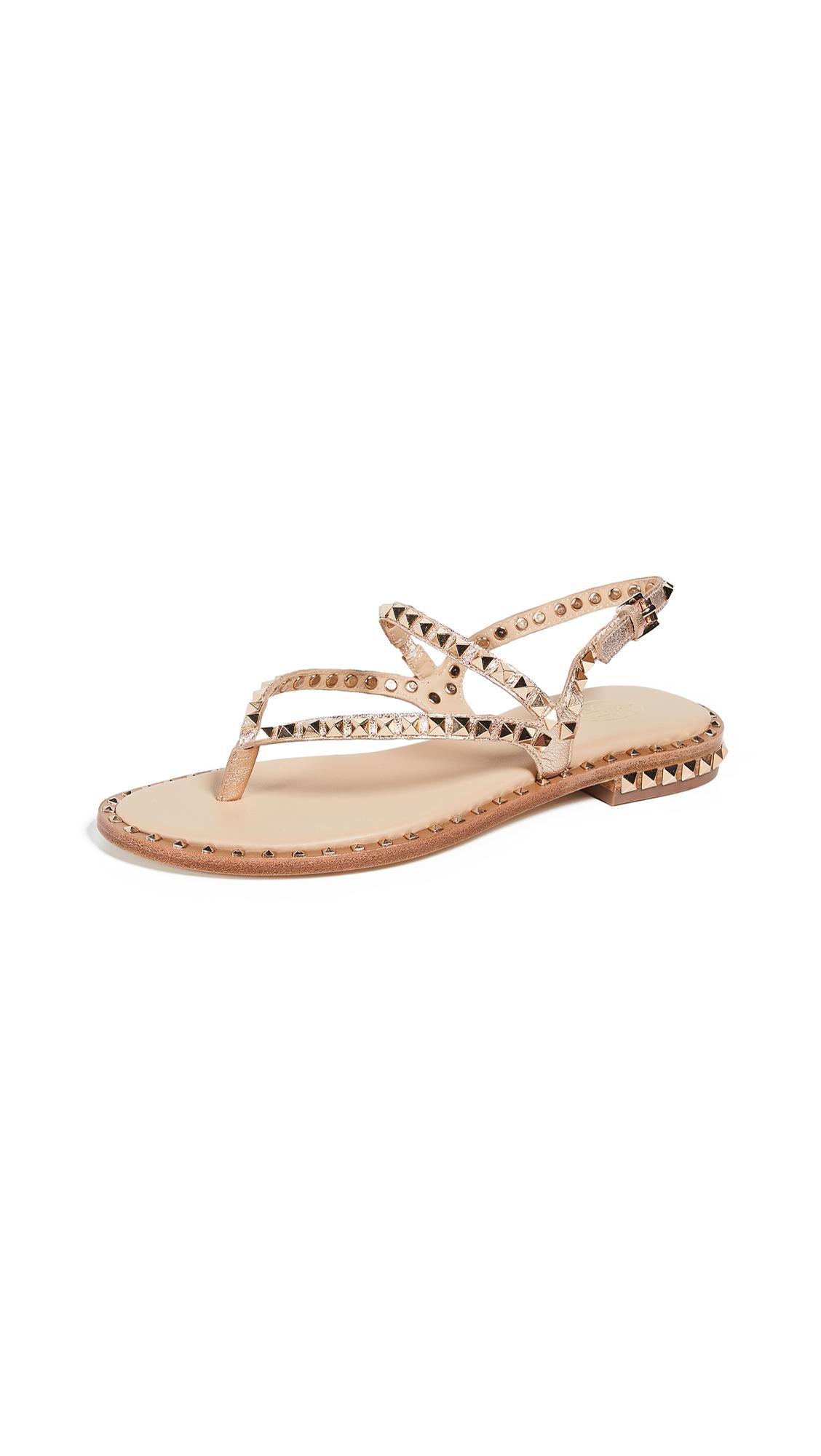 Ash Peps Thong Sandals - Metal Rame