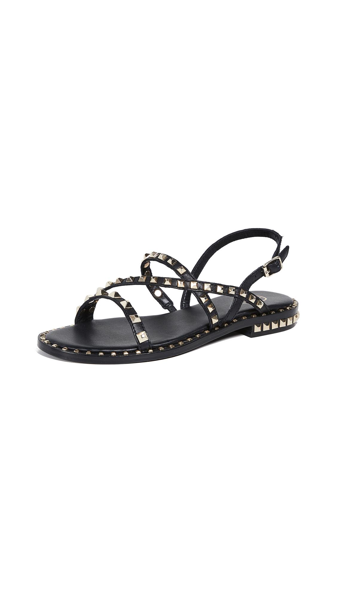 Ash Peace Sandals - Black