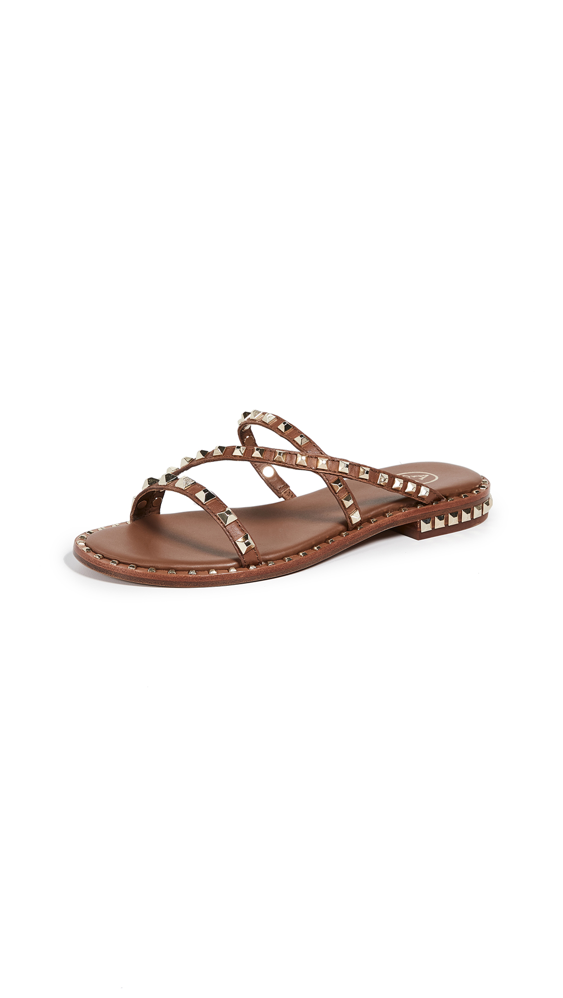 Ash Peace Bis Sandals - Cuoio