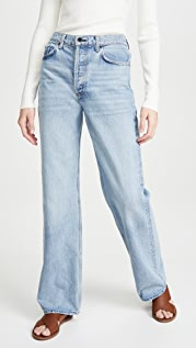 ASKK NY Slouchy Straight Leg Jeans