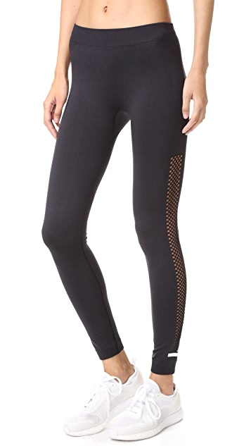 adidas by Stella McCartney Performance Essentials Seamless Mesh Leggings