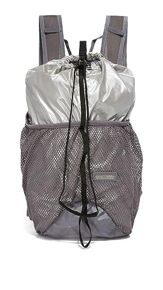 Adidas By Stella Mccartney Run Backpack - Silver at Shopbop