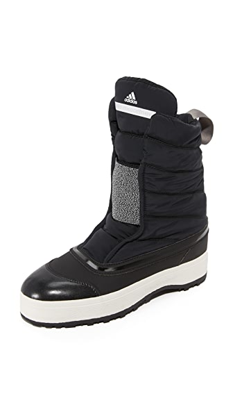 Adidas By Stella Mccartney Winter Boots - Black/White/Granite at Shopbop