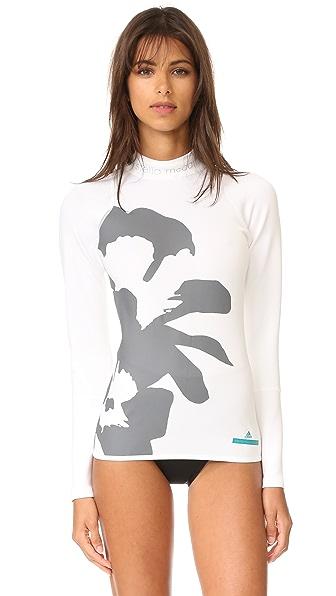 adidas by Stella McCartney Топ для плавания с цветочным рисунком
