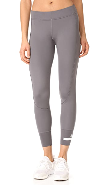 adidas by Stella McCartney Performance 7/8 Leggings - Granite