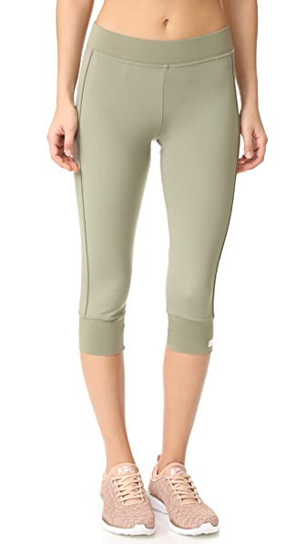 adidas by Stella McCartney 3/4 Tights - Ash Green