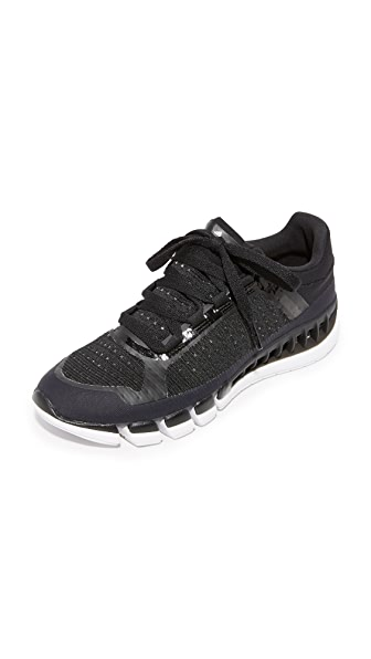 adidas by Stella McCartney Clima Cool Sneakers - Black & White/Solid Grey