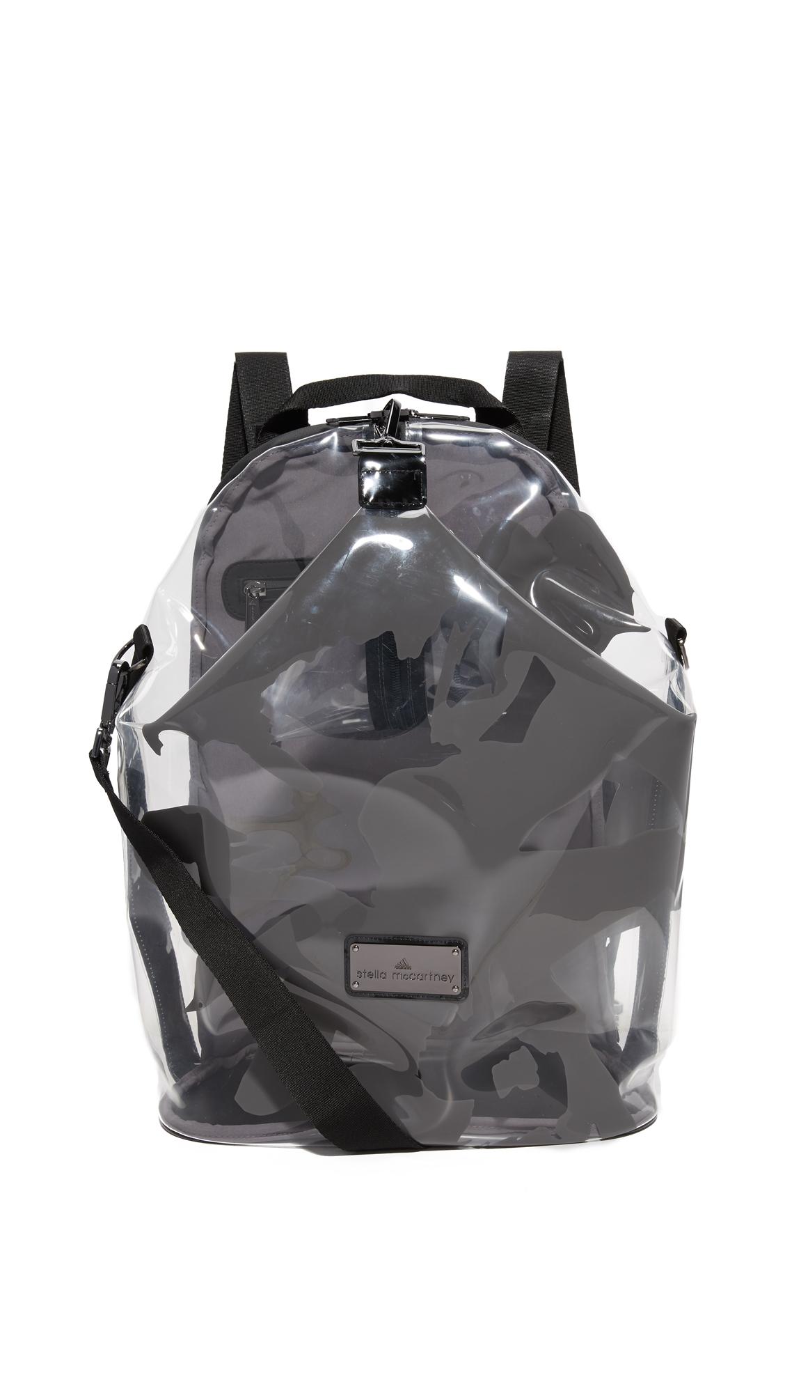 Adidas By Stella Mccartney Swim Bag - Transparent/Black/Cream/White at Shopbop