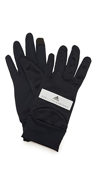 adidas by Stella McCartney Running Gloves - Legend Blue/Black