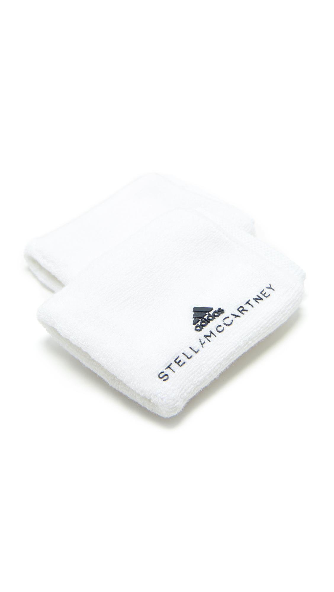 adidas by Stella McCartney Wristbands - White/Legend Blue