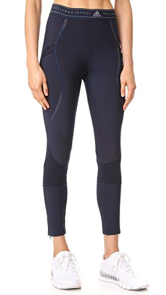 adidas by Stella McCartney Run Tights In Legend Blue
