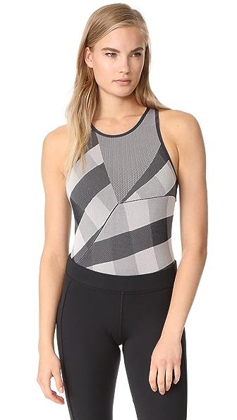 adidas by Stella McCartney Train SL Bodysuit - Black/White