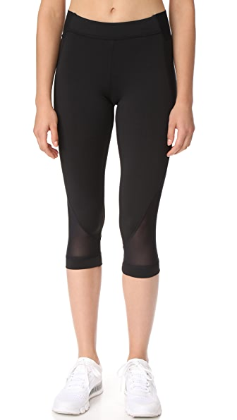 adidas by Stella McCartney Train 3/4 Tights - Black