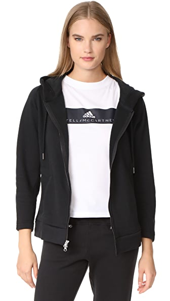 adidas by Stella McCartney Essentials Hoodie - Black