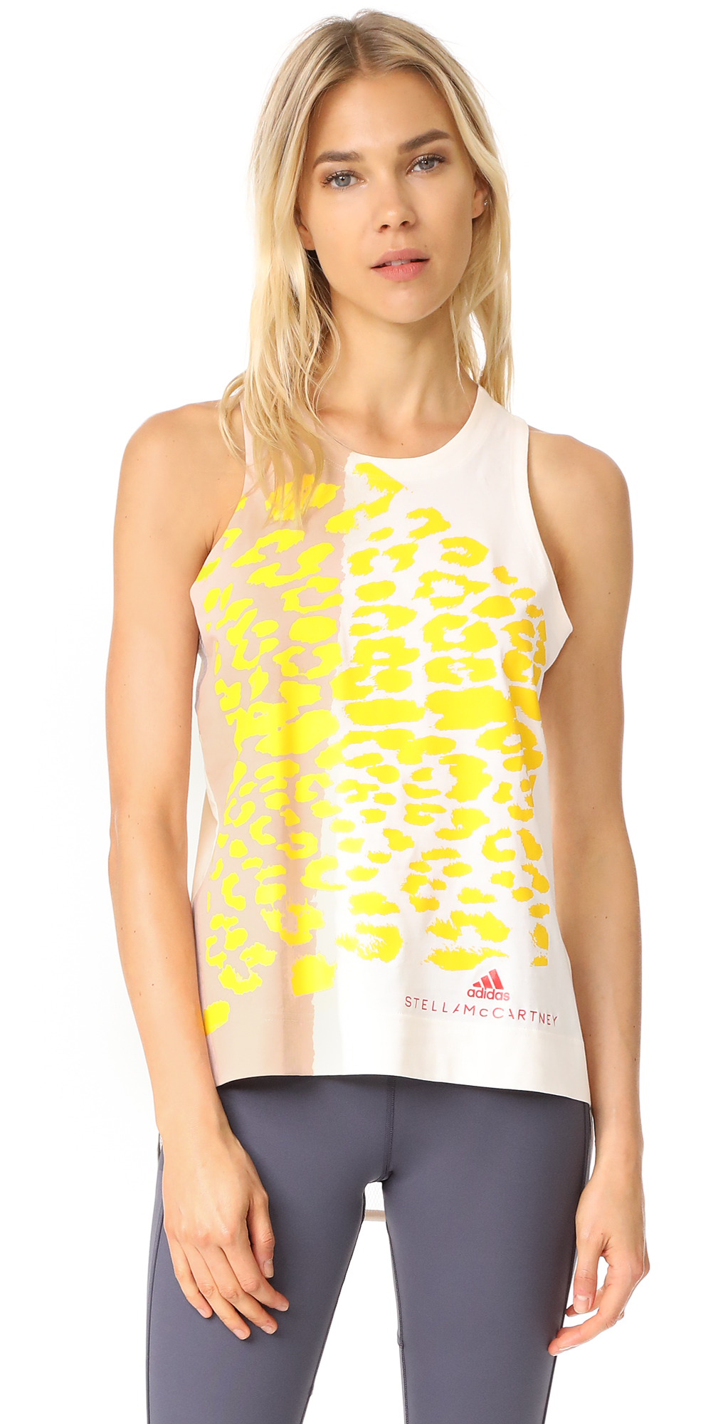 Essentials Leopard Tank adidas by Stella McCartney