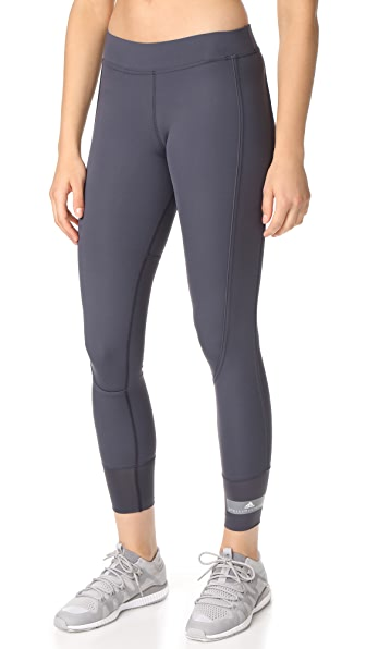 adidas by Stella McCartney 7/8 Tights - Night Steel