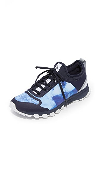 adidas by Stella McCartney Adizero XT Printed Sneakers - Legend Blue/White/Purple