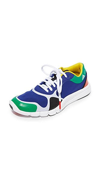 adidas by Stella McCartney Adipure Sneakers In Mystery Ink/Core Black/Green