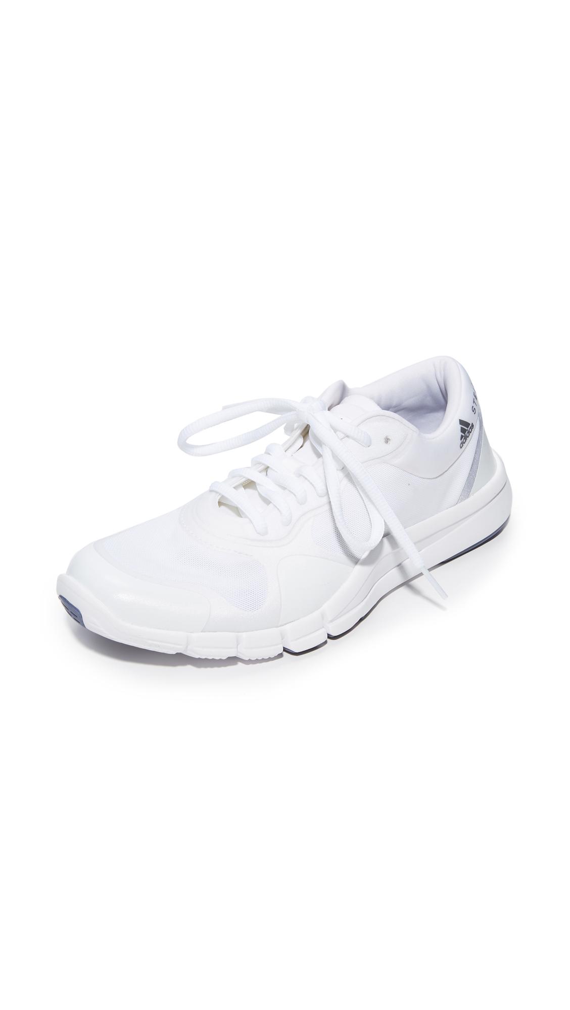 adidas by Stella McCartney Adipure Sneakers - Ftwr White/Ftwr White/Purple