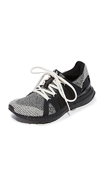 adidas by Stella McCartney Limited Edition Ultra Boost Sneakers In Black & White/Chalk White